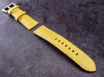 Lime Yellow Alligator Strap  24/22 75/125