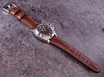 Grade A Reddish Brown Alligator Strap