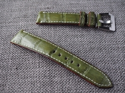 Olive Green Croc Belly Strap for Rolex 20/18 75/115 Ready to ship