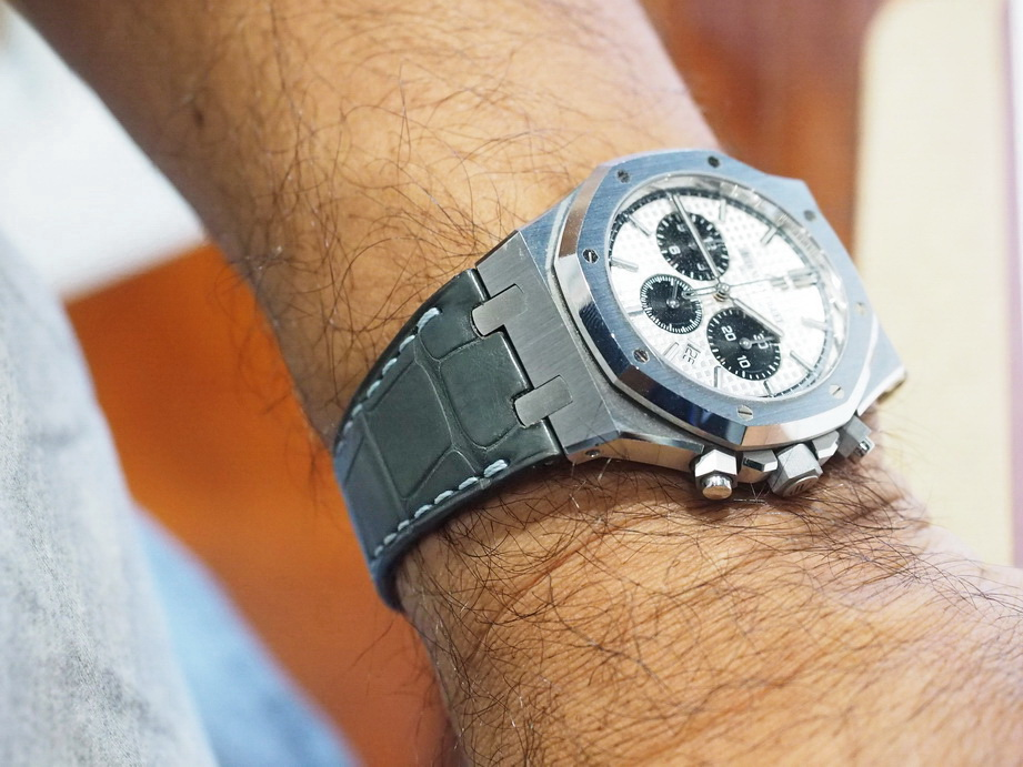 Ted Su custom made strap for Audemars Piguet Royal Oak-46