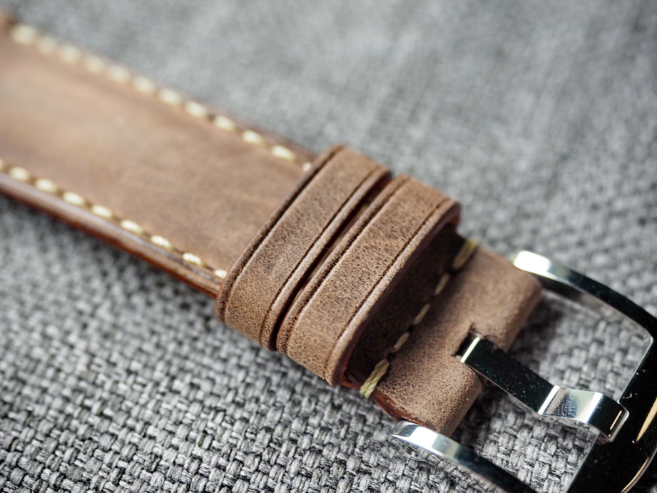 Ted Su Crazy Horse Straps custom for Rolex Panerai IWC