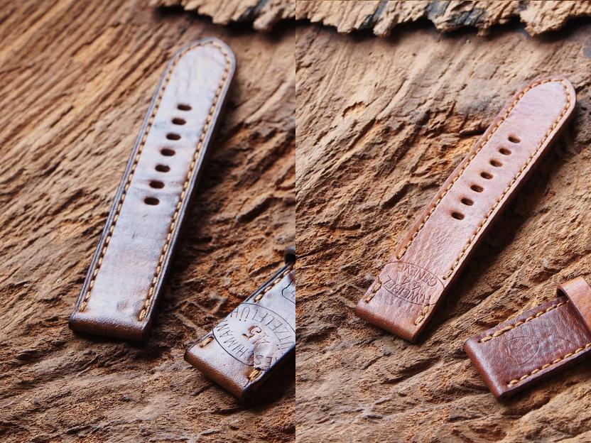 Ted Su Swiss ammo straps with edge creasing