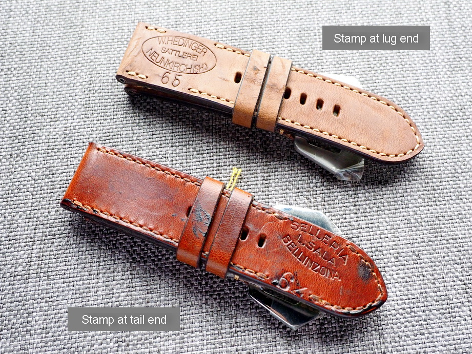 Ted Su Swiss ammo straps for Panerai