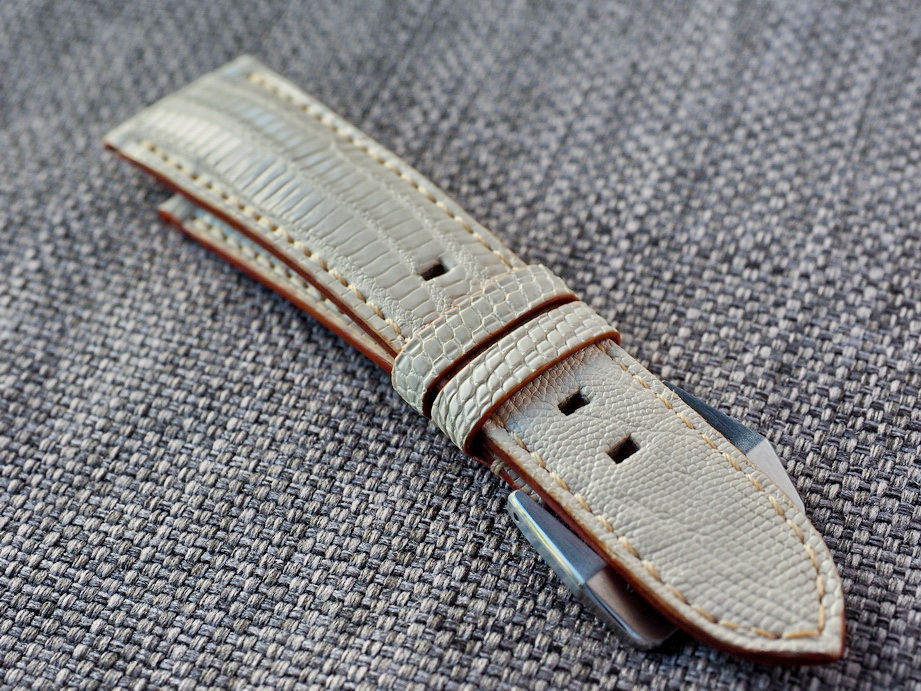 Ted Su Ivory Lizard Straps for Rolex