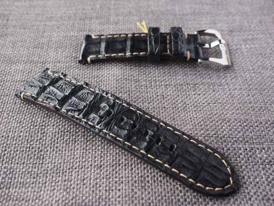 24mm Black Big Horn Back strap.  Ready to ship.