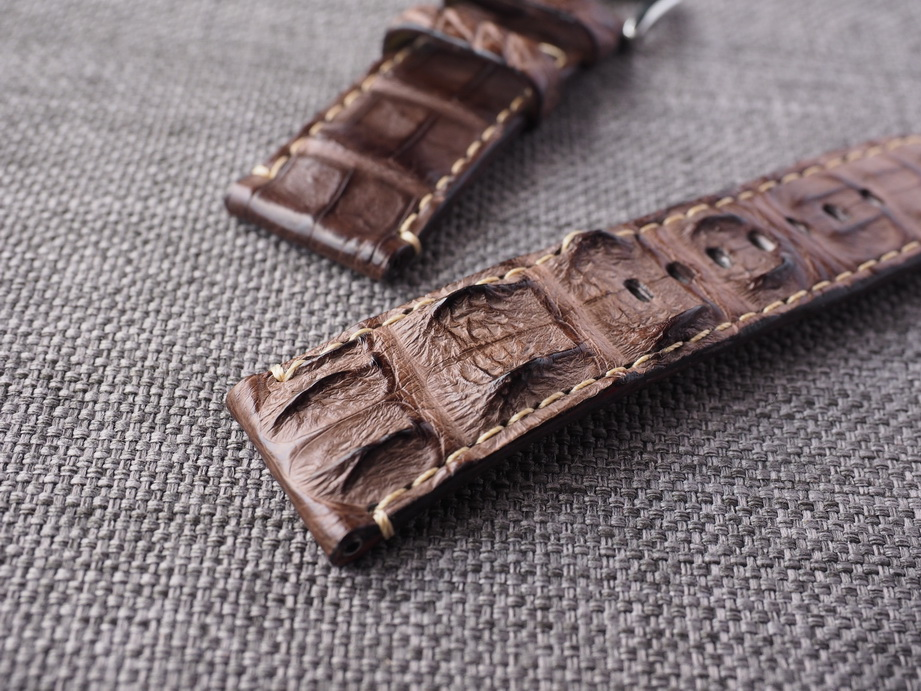 26mm Brown Big Horn Back Strap.  Ready to ship.