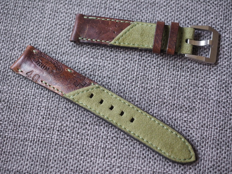 Swiss Ammotara strap for Rolex 20mm