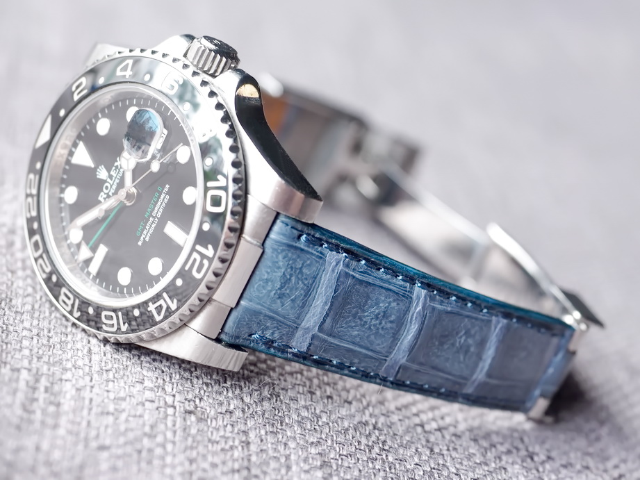 Rolex Deployant Straps- Caiman Belly