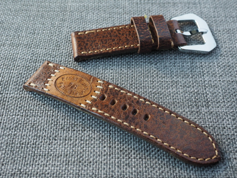 Ted Su special edition Swiss ammo strap for 44mm Panerai  Dated 1978
