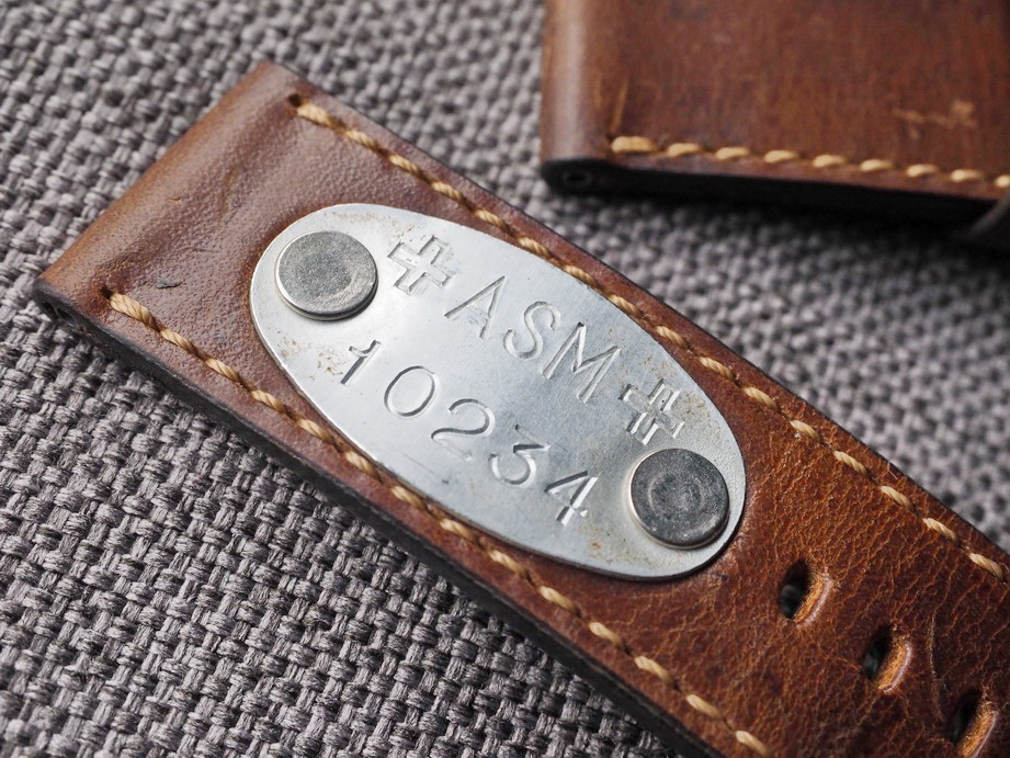 Ted Su special edition Swiss ammo strap for 47mm Panerai  ASM 10234