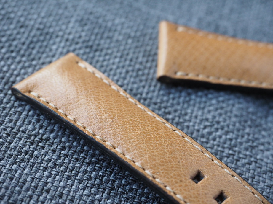 21mm Ted Su vintage Swiss Ammo Strap for Rolex