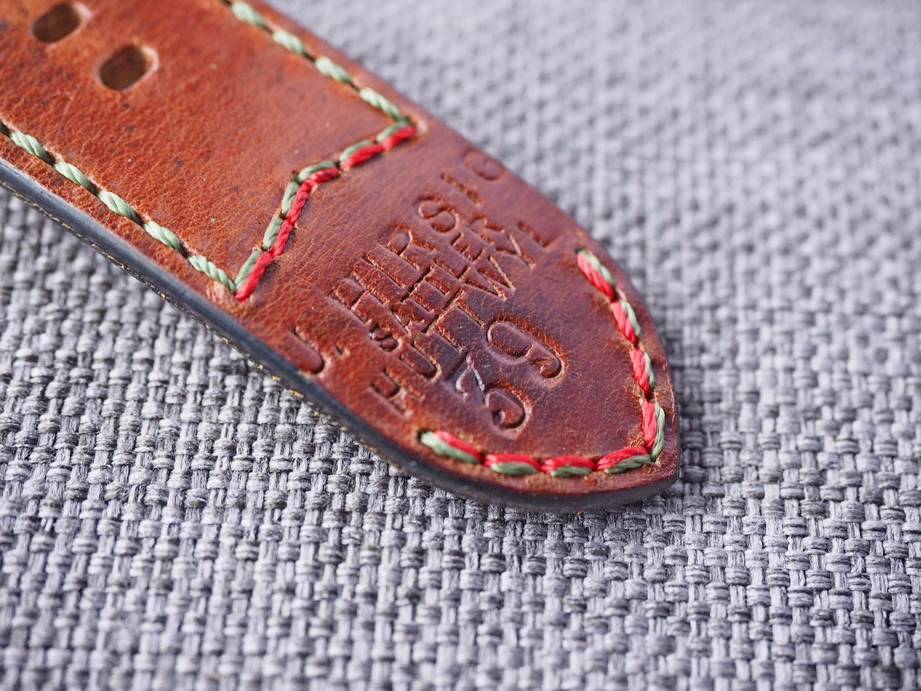 Ted Su 26mm Swiss ammo strap dated 1939 for Panerai