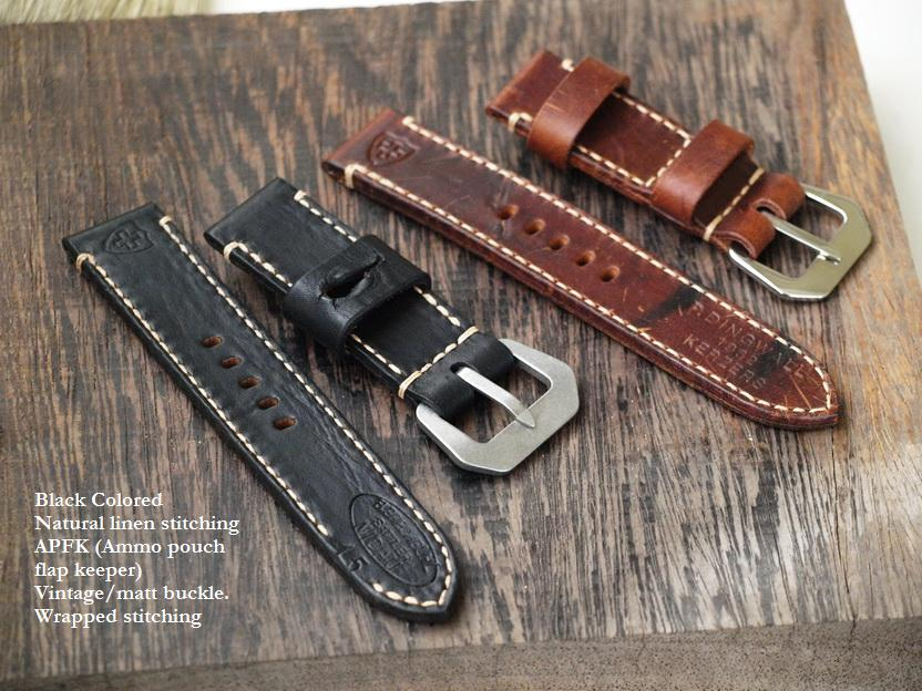 Ted Su Swiss ammo straps custom made to your specifications