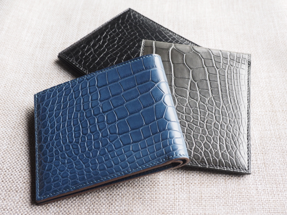 Ted Su geuine men's alligator wallets