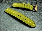 23mm Green Alcantara strap for Tudor Heritage Black Bay Bronze 23/23 75/125
