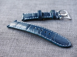 Dark Blue Alligator Strap 24/22 75/115- Ready to ship (2)