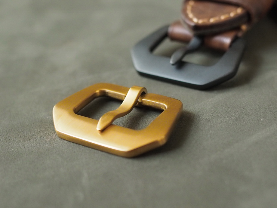 Ted Su DLC bronze buckles
