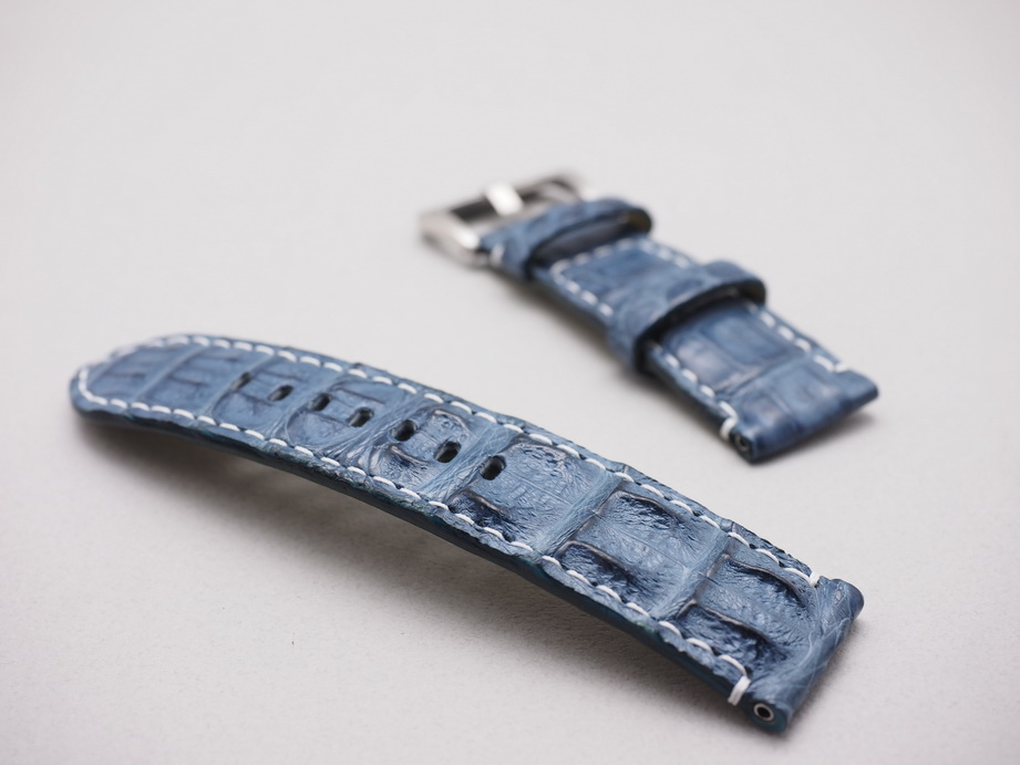 Ted Su Prussian Blue Big Horn Back Straps