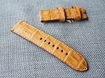 OL-61 24mm Golden croc belly strap 24/24 75/125
