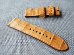 OL-66 26mm Golden croc belly strap  26/26 85/130
