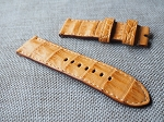 OL-67 26mm Golden croc belly strap  26/26 85/130