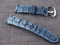 Prussian Blue Big Horn Back Strap  24/22 75/120