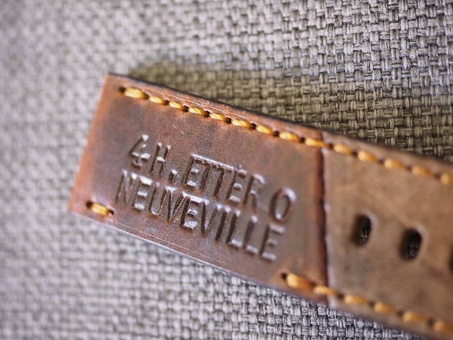 Ted Su special edition Swiss ammo strap dated 1940.  SW-2958