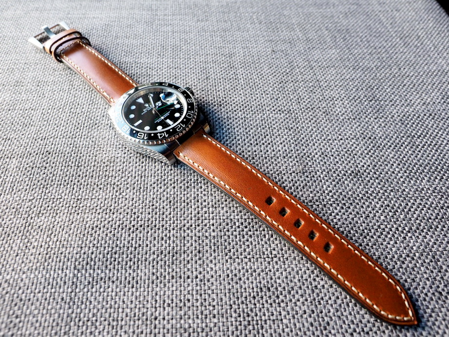 Waterproof Vintage Swiss Ammo Strap for Rolex- Custom order