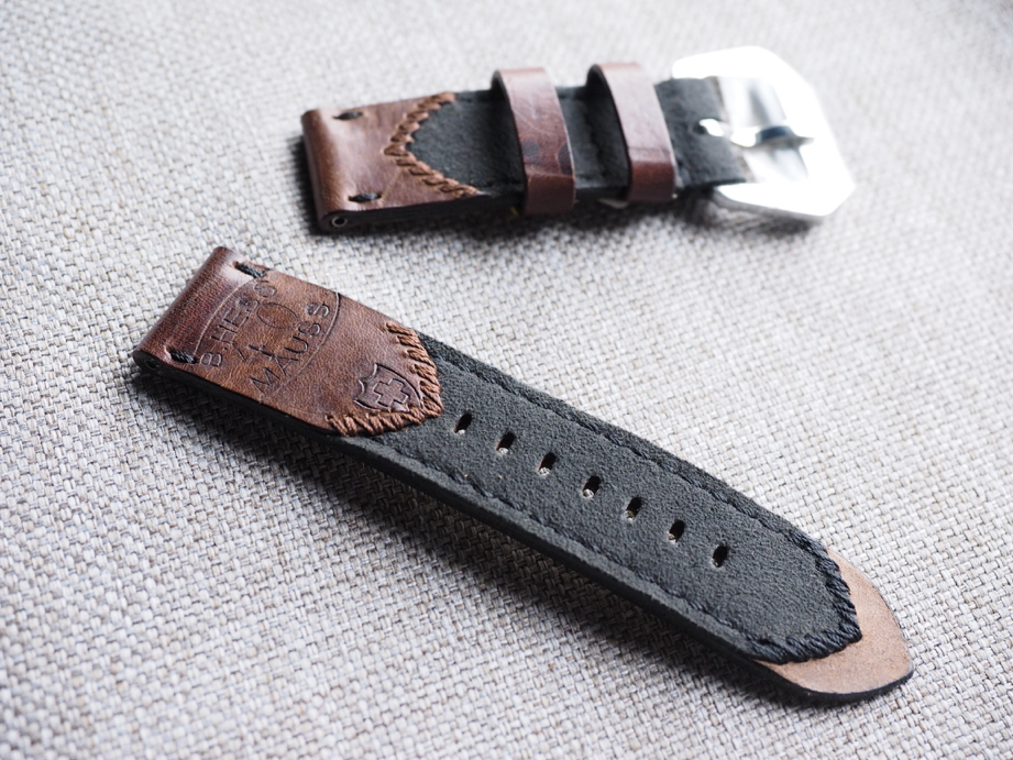Ted Su Swiss Ammotara strap for 44mm Panerai Dated 1940