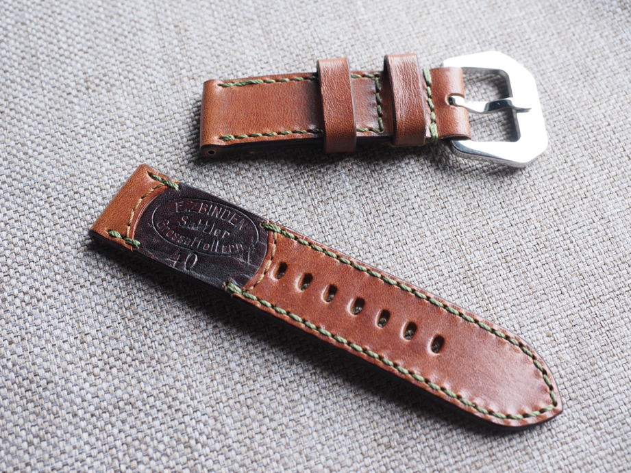 Ted Su special edition Swiss ammo strap for 44mm Panerai  Dated 1940  SW-2958
