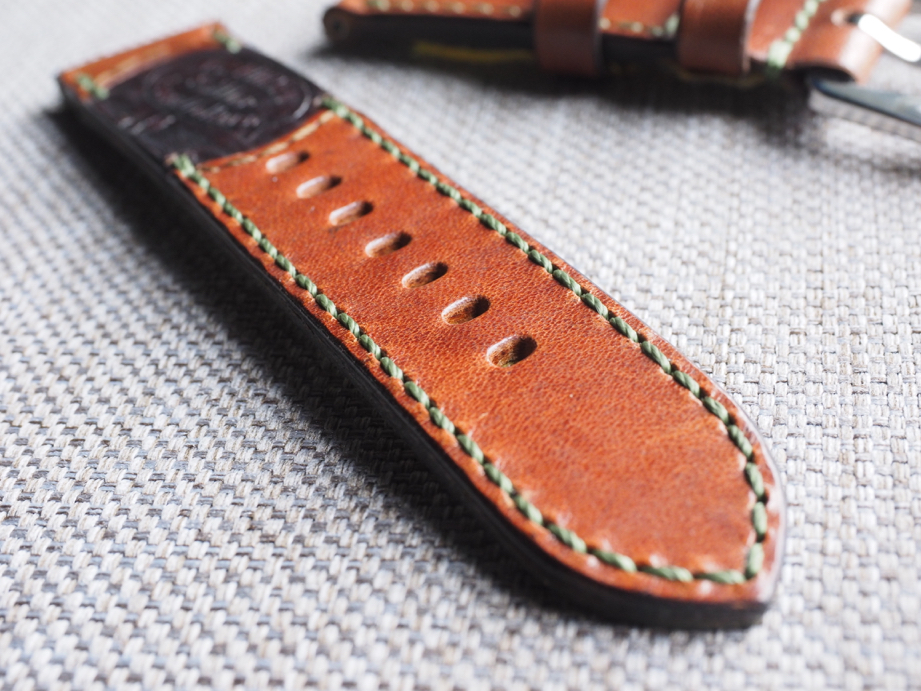 Ted Su special edition Swiss ammo strap for 44mm Panerai  Dated 1940.  SW-2958