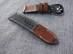 SW-2998   Swiss Ammotara  Strap for 47mm Panerai     Dated 1939  26/26 75/125