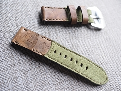 SW-2972   Swiss Ammotara  Strap for 44mm Panerai     Dated 1937  24/24 75/125