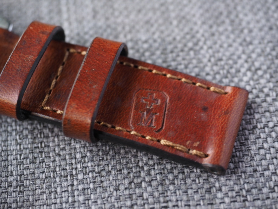 Ted Su special edition Swiss ammo strap.  Dated 1965.  SW-2952