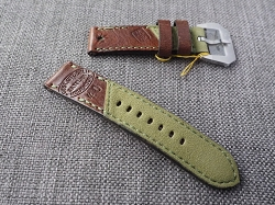 SW-3000   Swiss Ammotara  Strap for 44mm Panerai     Dated 1940  24/24 85/130