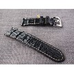 24mm Ready to ship Black Big Horn Back Strap  24/24 75/125