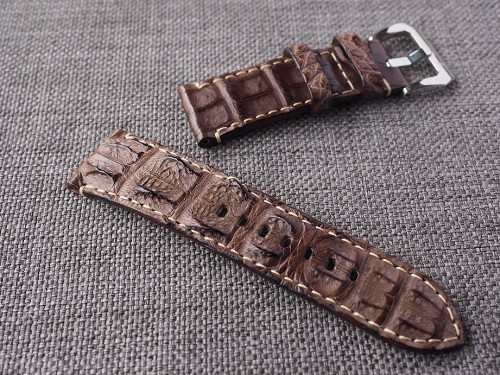 26mm Ready to ship Brown Big Horn Back Strap  26/24 75/125