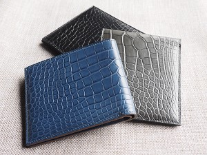 Ted Su genuine men's alligator wallets