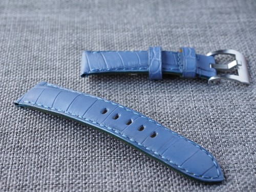 Lavender Alligator Strap 22/20 75/115- Ready to ship