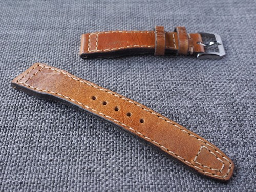 21mm Pilot style Swiss ammo strap for IWC