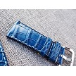 26mm Ready to ship Dark Blue Alligator strap 26/24 75/115